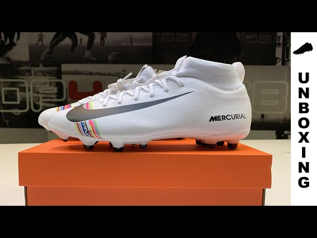 c373f800 Nike Mercurial Superfly 6 Academy MG LVL UP - Pure Platinum/Black/White -  YouTube