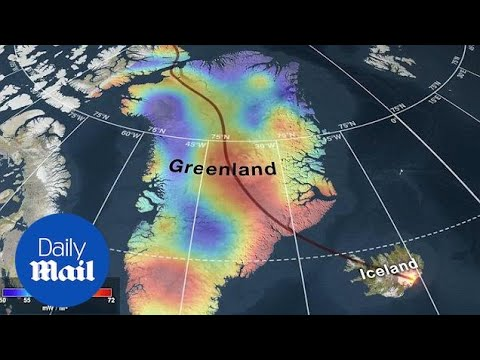 NASA study reveals the amazing geologic past of Greenland