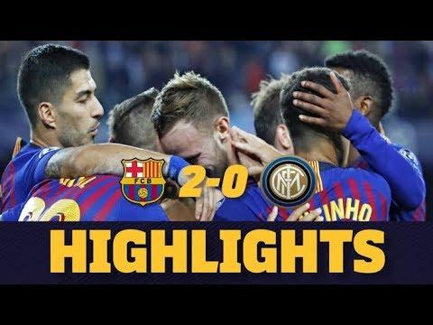Barcelona Vs Inter Milan (2-0) ||match Highlights🎥 |uefa Champions Leuge⚽