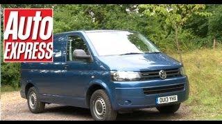 Volkswagen Transporter review - Auto Express