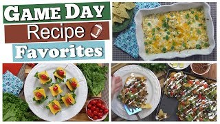 3 Favorite Game Day Party Foods  🏈