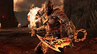 BLADE OF CHAOS GAMEPLAY SHOWCASE!! God of War Combos! Ghost of Sparta!