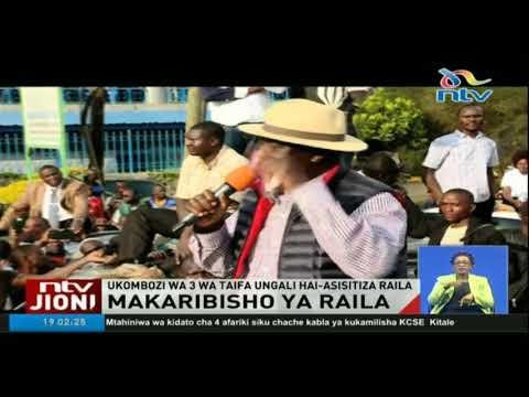 Polisi watumia kila mbinu kuzuia mkutano wa NASA bustani ya Nairobi
