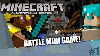 Minecraft PlayStation 4 Edition | Battle Mini Game #1