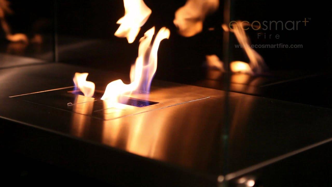 ecosmart fire igloo ethanol fireplace youtube