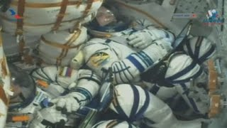La nave tripulada Soyuz MS-16 parte hacia la Estación Espacial Internacional