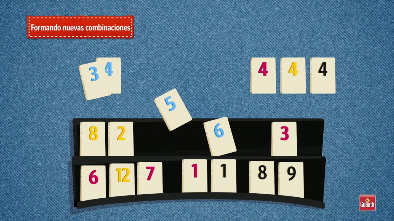 Tutorial Rummikub Español Youtube