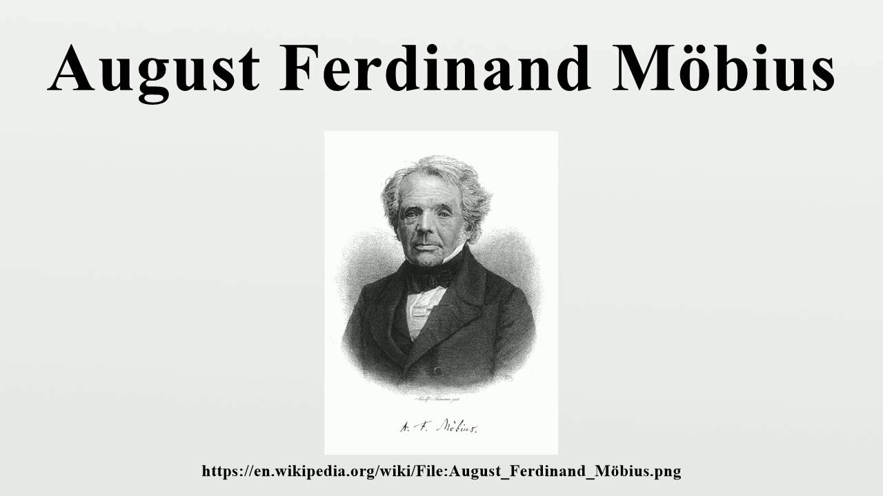 """a biography of august ferdinand mobius a german topologist """"woe, destruction, ruin, and decay the worst as we contemplate continuity, we might send never-ending birthday greetings to august ferdinand (roughly) daily."""