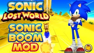 Sonic Lost World (PC) - Sonic Boom Mod