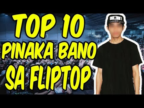 Thumbnail: Fliptop Top 10 Most Bano Emcees of 2017