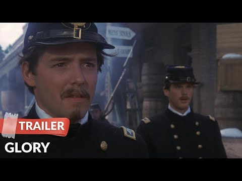 Glory 1989 Trailer | Matthew Broderick | Denzel Washington
