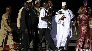 Гамбия  экс президент  обокрал казну