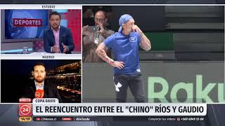 Equipo chileno continúa entrenamientos en España para debut en la Copa Davis