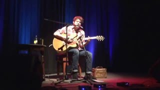 Chris Helme - Love is the Law live Acoustic Darwen Library Theatre