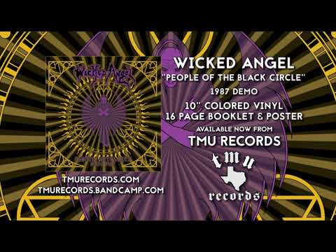 WICKED ANGEL  People Of The Black Circle  Demo 1987