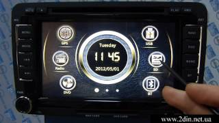 Штатная магнитола RedPower 12004 для Volkswagen (Passat B7/B6,Caddy,Jetta,Golf,Polo,Tiguan,Touran)(Штатная магнитола для Volkswagen Passat B7: http://2din.net.ua/Volkswagen-Passat-B7-redpower.html Штатная магнитола для Volkswagen Passat B6: ..., 2015-04-16T06:46:10.000Z)