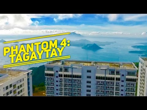 DJI Phantom 4 Drone Philippines Episode 4: Tagaytay