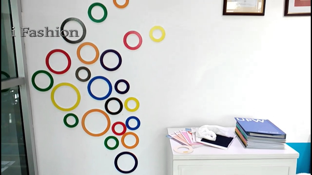 Diy wall decoration 2017 youtube - Images of wall decoration ...