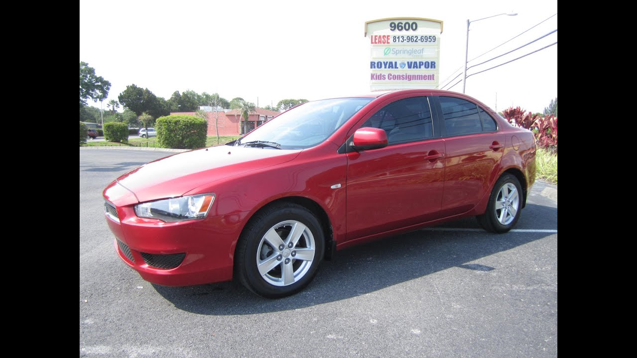 sold 2009 mitsubishi lancer es sport one owner meticulous motors inc florida for sale youtube. Black Bedroom Furniture Sets. Home Design Ideas