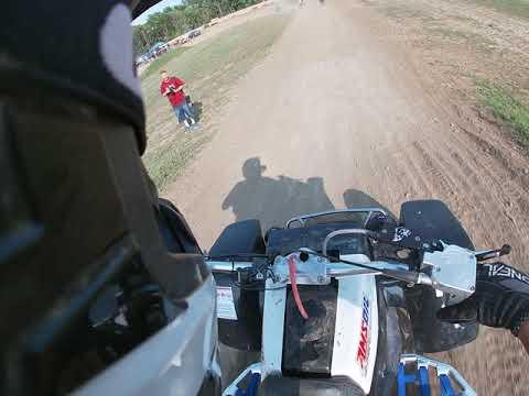 Riding a Banshee at Latrobe Speedway