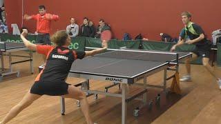 Андрей БУКИН - Ольга БАРАНОВА, Настольный теннис, Table Tennis