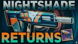 Nightshade Pulse Rifle (Year 2 Version) | Destiny 2 Black Armory