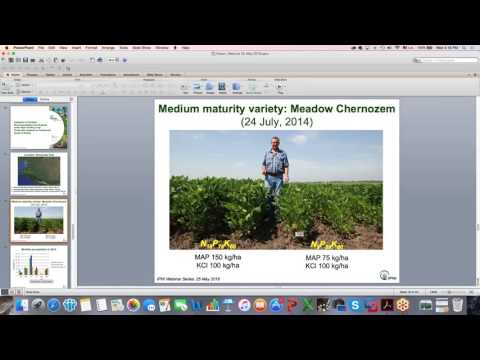 IPNI Webinar Series: Results of Agronomic Projects in Southern Russia