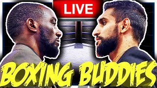 🔴live Boxing Terence Crawford Vs Amir Khan  Stevenson Vs Diaz Reaction