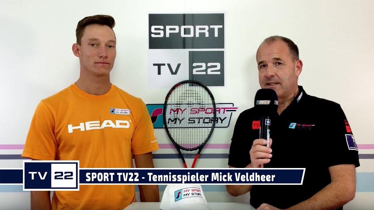 SPORT TV22: Tennisspieler Mick Veldheer im exklusiven Interview