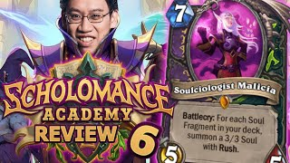 9 Soul Fragment Cards! - Scholomance Academy Review #6 | Hearthstone
