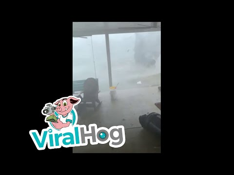 The Mo & Sally Show - Texas Man Films What It's Like In The Middle Of A Tornado