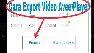 Cara Menyimpan Video di Aplikasi Avee Player yang Error Dan Lama | Ini Solusinya