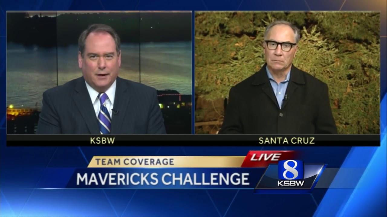 Santa Cruz surfers ready to compete at Mavericks - YouTube