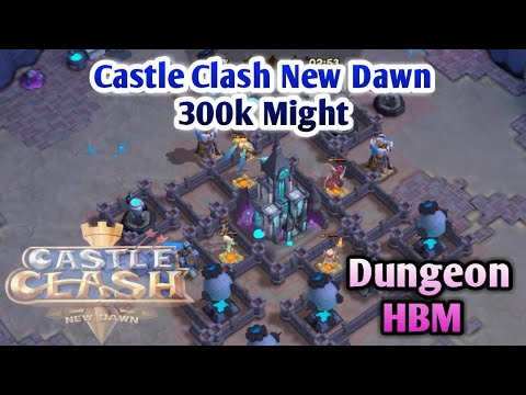 Castle Clash New Dawn | 300k Might | Pd/Mino/Sm/TG | Same Hero | Dungeon/HBM Gameplay | Castle Clash