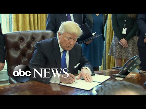 President Trump Signs 5 More Executive Orders/Memorandums