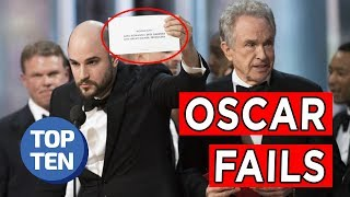Top 10 Biggest Oscar Fails of All Time