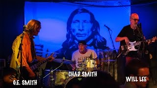 G. E. SMITH, CHAD SMITH AND WILL LEE AT THE STEPHEN TALKHOUSE.