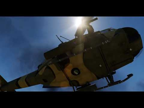 DCS World 2.5 - UH-1H Huey - Quick mission - Air to ground attack - Easy
