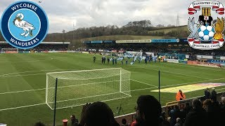 Wycombe Wanderers V Coventry City 01/01/19