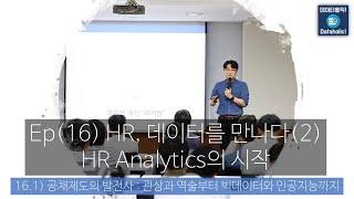 데이터홀릭 Ep(16.1) 공채제도의 발전사 - 관상과 역술부터 빅데이터와 인공지능까지