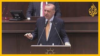 كلمة للرئيس التركي أردوغان هاجم فيها خطاب الكراهية ضد الإسلام والمسلمين في الغرب