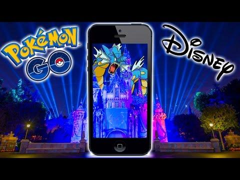 Pokemon Go in Disneyland! BEST PLACE ON EARTH FOR POKEMON GO!