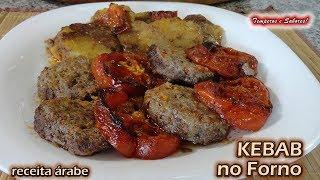 Baixar KEBAB NO FORNO receita árabe deliciosa e muito fácil