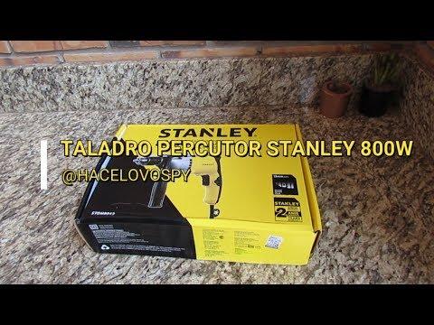 UNBOXING TALADRO PERCUTOR DE 800W STANLEY