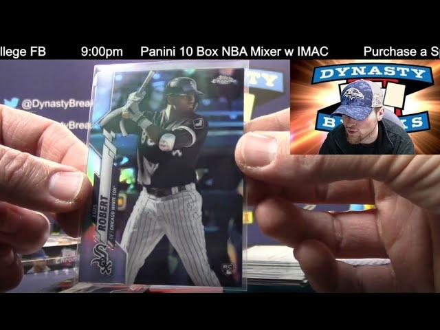 2020 Topps Chrome Baseball Card Hobby 6 Box Half Case Break #4   Sports Cards