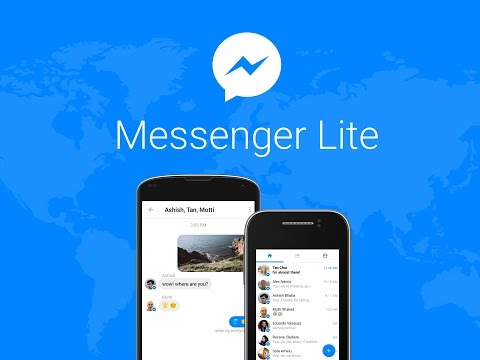 "Sale nueva version de ""Messenger Lite"" 3.1 de Facebook"