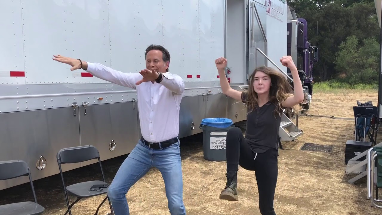 Download Get Shorty's Ray Romano & Chris O'Dowd Dancin' w/Cast & Crew
