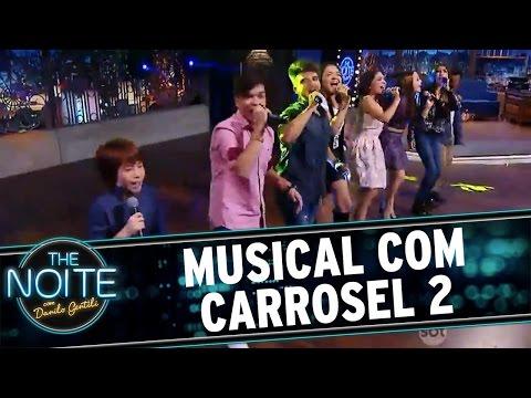 The Noite (06/07/16) - Elenco canta música do filme Carrossel 2