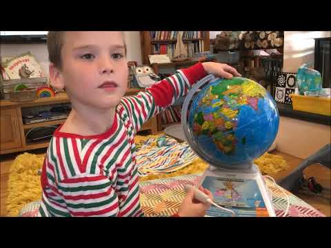 SmartGlobe Adventure AR: The Whole World In His Hands