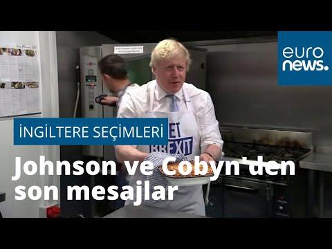 Johnson ve Cobyn'den seçim öncesi İngiliz halkına son mesajlar